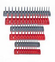 NEW Hansen Global 92000 SAE & Metric Socket Storage Trays  6 Piece Set