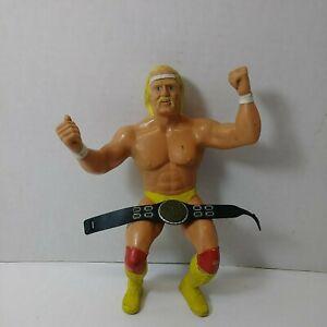Vintage 1984 LJN Titan Sports Hulk Hogan Belt WWF WWE Wrestling Wrestler Figure