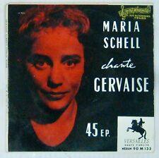 Gervaise 45 tours Maria Schell René Clément 1956