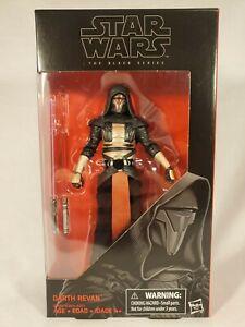 Hasbro Star Wars Black Series 6 Inch #34 Darth Revan NIB Action Figure
