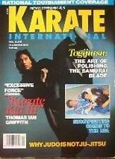 10/92 KARATE INTERNATIONAL THOMAS IAN GRIFFITH JOE LEWIS KUNG FU MARTIAL ARTS