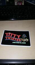 TITTY TWISTER STICKER FROM DUSK TIL DAWN