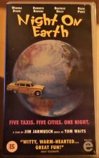NIGHT ON EARTH - VHS (PAL) - 1991 - Immaculate Condition!