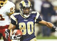 Isaac Bruce--St Louis Rams--Glossy 5x7 Color Photo