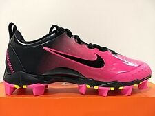 Nike Pink Black 856435-066 FastFlex Softball Soccer Cleats Size 6Y Girl Youth