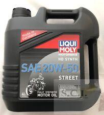 HARLEY DAVIDSON LIQUI MOLY HD SYNTHETIC OIL 20W-50 STREET 4L