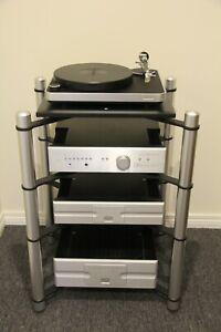 Extrema Evolution MX14 4 Shelf Modular Ultra Durable Stereo HiFi Audio Rack