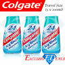 Colgate Icy Blast Toothpaste & Mouthwash Tooth Whitening Travel Size - 3 x 100ml