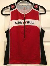 CASTELLI TRI SINGLET TOP MENS XL EXTRA LARGE TRIATHLON CYCLING BIKING EUC