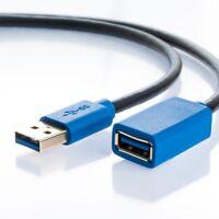 0,5m USB 3.0 Verlängerungskabel | USB-A Stecker zu USB-A Buchse Erweiterung 50cm