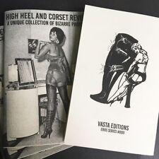HIGH HEEL & CORSET REVUE 1950s/'60s Fetish Lingerie Shoes ~ Vasta Editions 2018