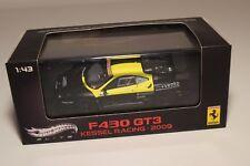 V 1:43 HOTWHEELS ELITE FERRARI F430 F 430 GT3 KESSEL RACING ROSSI 2009 MIB RARE