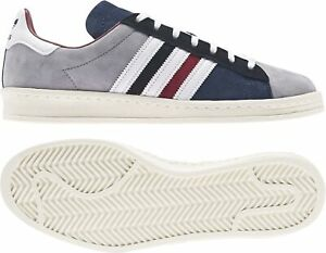 ADIDAS Campus 80s Sneakers Grey Blue White FY7152