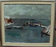 Gunnar Ekdahl 1907-1995, Bootssteg, um 1950