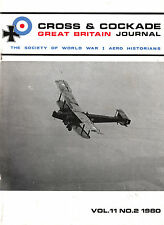 CROSS & COCKADE Great Britain Journal Vol 11 No 2 1980 No.60 Squadron History 2