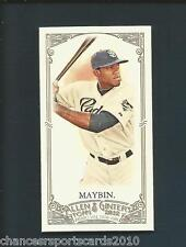 2012 ALLEN & GINTER CAMERON MAYBIN MINI #52 SAN DIEGO PADRES