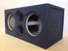 """Custom Ported Sub Box Subwoofer Enclosure for 2 10"""" Kicker CompVX CVX - 34 Hz"""