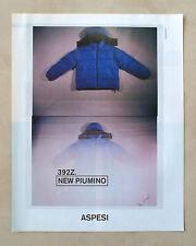 C321-Advertising Pubblicità-1998- ASPESI NEW PIUMINO 392Z