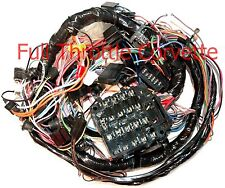 1975 Corvette Dash Wiring Harness. Manual With Seatbelt Interlock System