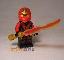 Lego Kai Kimono Ninja from Ninjago set 70500 Fire Mech + Fire Sword NEW njo071
