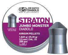 JSB Diabolo Straton Jumbo Monster Pellets 5.51mm Pellets 200psc (546289-200)