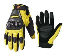 Motorcycle Power sports ATV Motocross Dirt Bike Street Bike Gloves Yellow