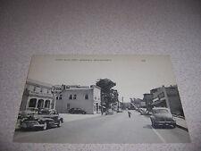 1940s TYDOL GAS STATION NORTH MAIN STREET DOWNTOWN MANSFIELD MA. POSTCARD