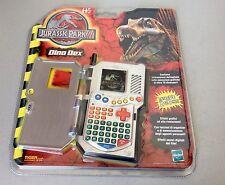Jurassic Park III 3 Dinodex Nib Game & Watch Tiger Electronics