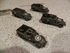 Flames of war   US 3 M3 Halftraks & 1 M2 Halftrak