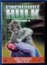 L'INCREDIBILE HULK - STAGIONE 4 - EPISODI 1-4 - DVD N.02649