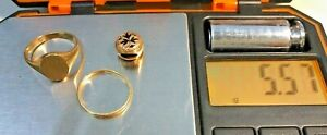 Solid Antique 10K Gold Scrap Lot Jewelry - Scrap or Wear 5.57 Grams NICE!