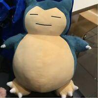 "2016 Huge Snorlax Cushion Pokemon Center Plush Toy Doll NEW 19"""
