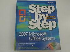 Microsoft 2007 Microsoft Office System Step-by-step 2nd Ed Cox Frye Lambert New