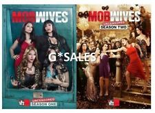 Mob Wives UNCENSORED ~ Complete First & Second Season 1 & 2 ~ NEW DVD SET