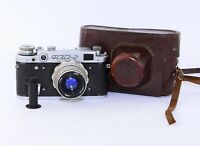 FED-2 Soviet Rangefinder Film Camera (copy Leica) w/s lens industar-26M #A071585