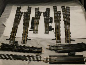 HO Scale Rail components