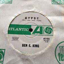 "BEN E KING - GYPSY - - Rare 1963 Australian ATLANTIC 7""  Funk Soul"