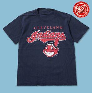 HOT!! Vintage Cleveland Indians 2021 M.L.B T-shirt S-5XL