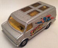 Corgi SUPERMAN Chevrolet Van Die Cast Model Car