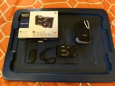 Sony Cyber-shot DSC-HX5V 10.2MP Digital Camera - Black