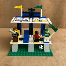 3403 Lego complete Fans' Grandstand with Scoreboard instructions soccer football