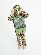 Vestido Elaborado Halloween Niños pantano Zombie Vestirse Traje H18