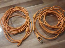 2 x Tether Tools USB orange Studioequipment
