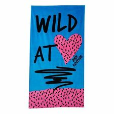 Juicy Couture ''Wild at Heart'' Beach Towel, 100% Turkish Cotton