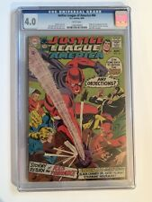 JUSTICE LEAGUE OF AMERICA #64 CGC 4.0 1ST RED TORNADO UPCOMING SUPERGIRL CBS TV