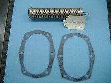 Triumph Trident T-150, T-160,BSA R3, genuine oil filter + 2 sump plate gasket