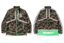 A BATHING APE BMX JACKET BAPE Mens Camouflage Outerwear Jacket Green From Japan