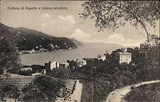 Rapallo Ligurien Italien Riviera ~1910 Costiera di Rapallo e rivierea orientale