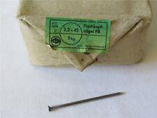 5 kg Nägel Flachkopfnägel FB 2,2 x 45 ORIGINAL DDR OVP