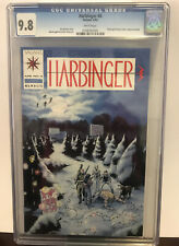 Harbinger Issue #4 CGC 9.8 NM/MT With Coupon 1992